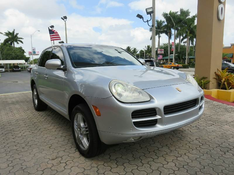2006 PORSCHE CAYENNE S AWD 4DR SUV silver the showroom miami is a family owned first class used