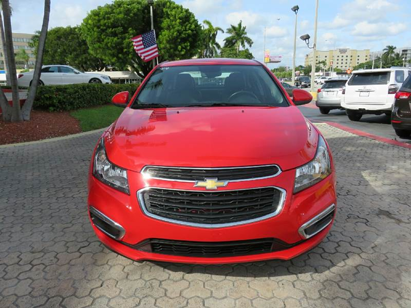2015 CHEVROLET CRUZE 2LT AUTO 4DR SEDAN W1SH red the showroom miami is a family owned first cla