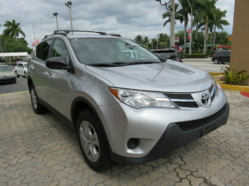 2013 TOYOTA RAV4 LE AWD 4DR SUV black the showroom miami is a family owned first class used car