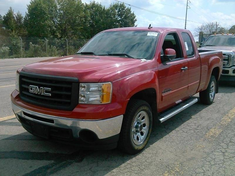 2010 GMC SIERRA 1500 SL 4X2 4DR EXTENDED CAB 65 FT red the showroom miami is a family owned fi