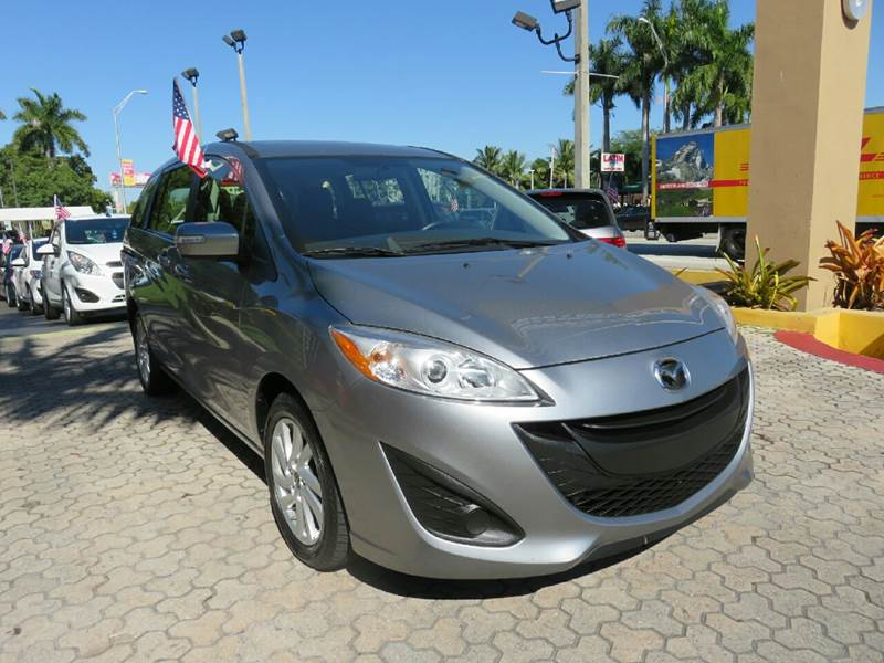 2015 MAZDA MAZDA5 SPORT 4DR MINI VAN gray the showroom miami is a family owned first class used