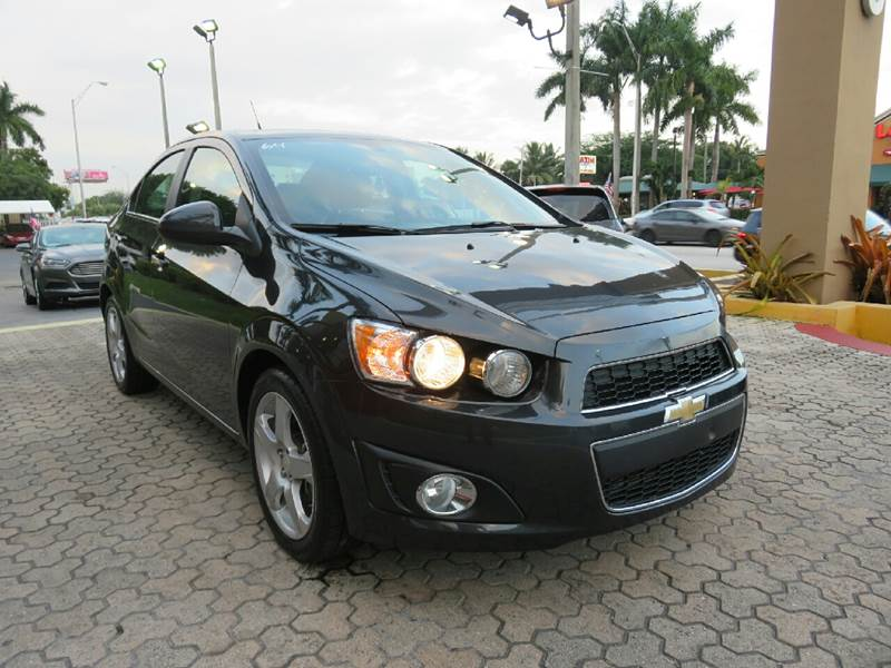 2014 CHEVROLET SONIC LTZ AUTO 4DR SEDAN blue the showroom miami is a family owned first class us