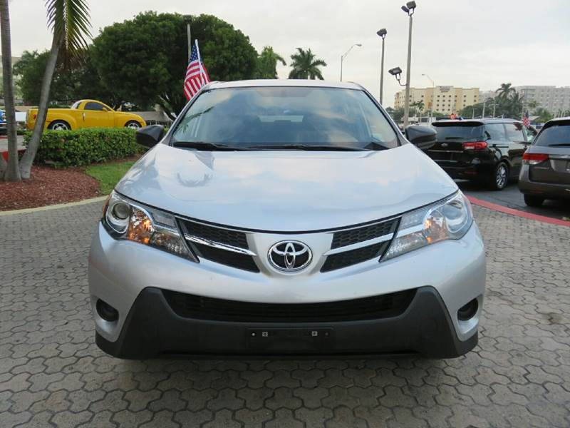 2015 TOYOTA RAV4 LE AWD 4DR SUV silver the showroom miami is a family owned first class used car