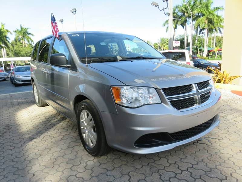 2014 DODGE GRAND CARAVAN SE 4DR MINI VAN silver the showroom miami is a family owned first class