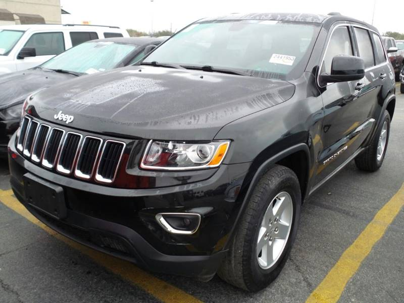 2014 JEEP GRAND CHEROKEE LAREDO 4X2 4DR SUV black the showroom miami is a family owned first cla