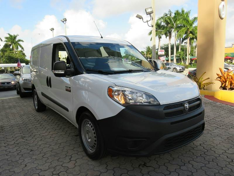 2016 RAM PROMASTER CITY CARGO TRADESMAN 4DR CARGO MINI VAN white the showroom miami is a family ow