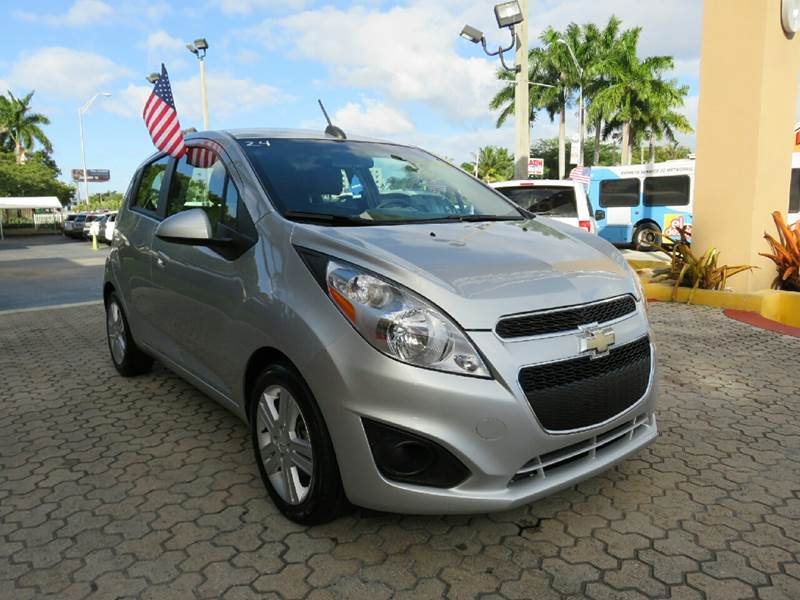 2015 CHEVROLET SPARK 1LT CVT 4DR HATCHBACK silver the showroom miami is a family owned first cla