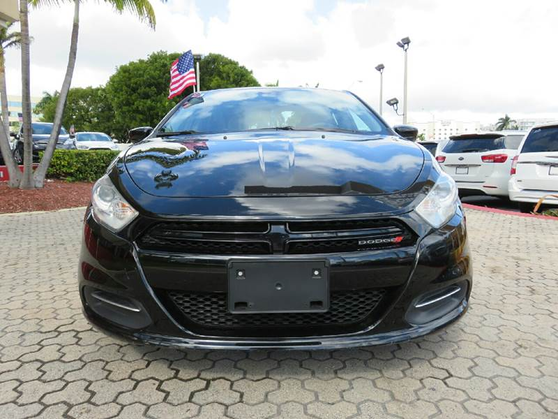 2015 DODGE DART SE 4DR SEDAN black the showroom miami is a family owned first class used car dea