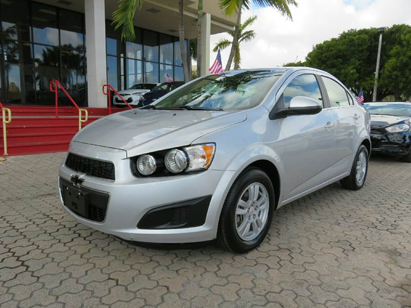 2015 CHEVROLET SONIC LT AUTO 4DR SEDAN silver the showroom miami is a family owned first class u