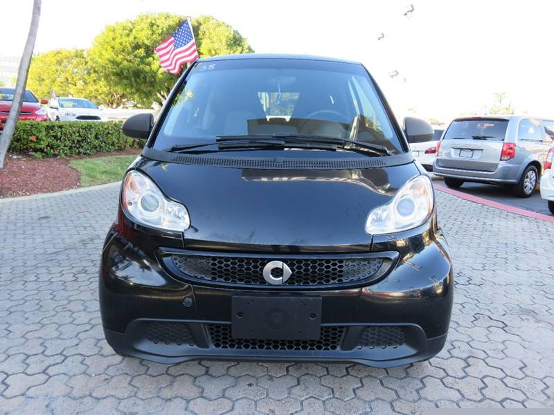 2013 SMART FORTWO PURE 2DR HATCHBACK black exhaust tip color - stainless-steel front bumper colo