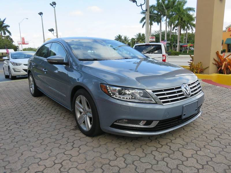 2013 VOLKSWAGEN CC SPORT PZEV 4DR SEDAN 6A blue exhaust - dual tip body side moldings - chrome