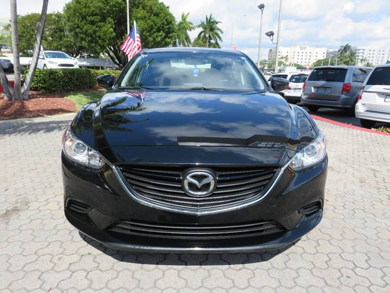 2016 MAZDA MAZDA6 I SPORT 4DR SEDAN 6A black exhaust - dual tip exhaust tip color - metallic do