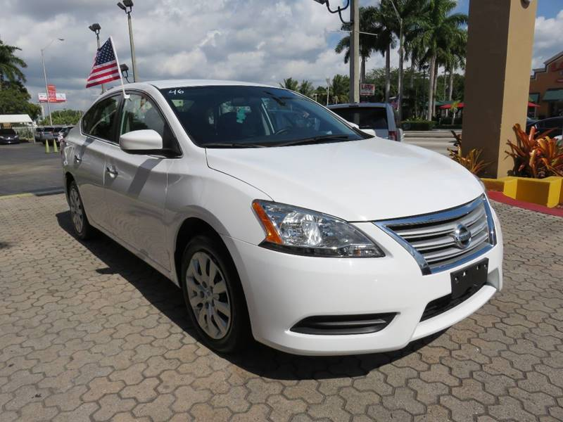 2015 NISSAN SENTRA S 4DR SEDAN CVT white door handle color - chrome front bumper color - body-co