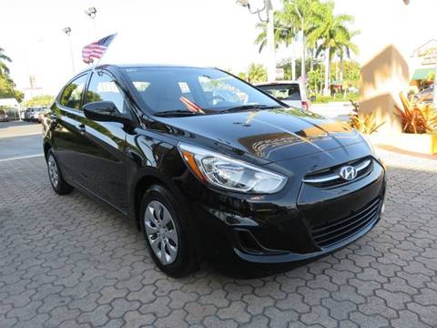 2015 Hyundai Accent for sale in Miami, FL