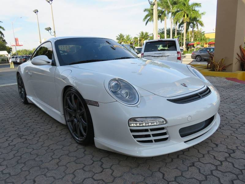 2009 PORSCHE 911 CARRERA S 2DR COUPE white exhaust - dual tip exhaust tip color - stainless-stee