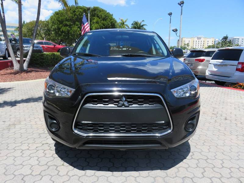 2015 MITSUBISHI OUTLANDER SPORT 24 ES 4DR CROSSOVER black door handle color - body-color front b
