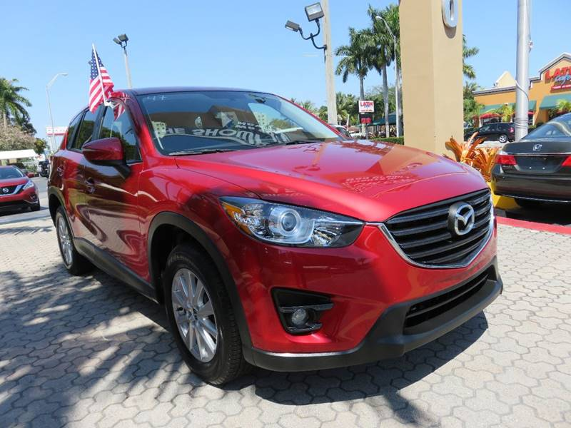 2016 MAZDA CX-5 TOURING 4DR SUV red exhaust - dual tip exhaust tip color - metallic rear spoile