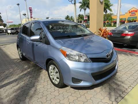 2013 Toyota Yaris for sale in Miami, FL