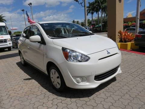 2015 Mitsubishi Mirage for sale in Miami, FL