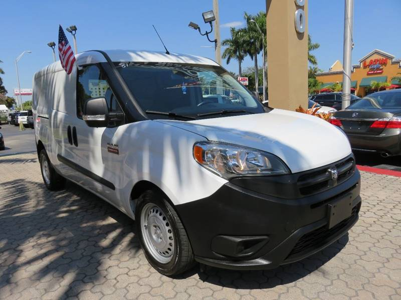 2015 RAM PROMASTER CITY CARGO TRADESMAN 4DR CARGO MINI VAN white body side moldings - black door