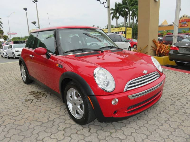 2006 MINI COOPER BASE 2DR HATCHBACK red air filtration front air conditioning steering wheel tr