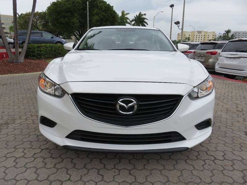 2016 MAZDA MAZDA6 I SPORT 4DR SEDAN 6A white exhaust - dual tip exhaust tip color - metallic do