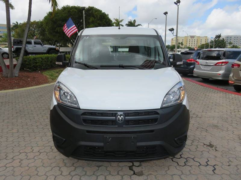 2016 RAM PROMASTER CITY CARGO TRADESMAN 4DR CARGO MINI VAN white body side moldings - black door