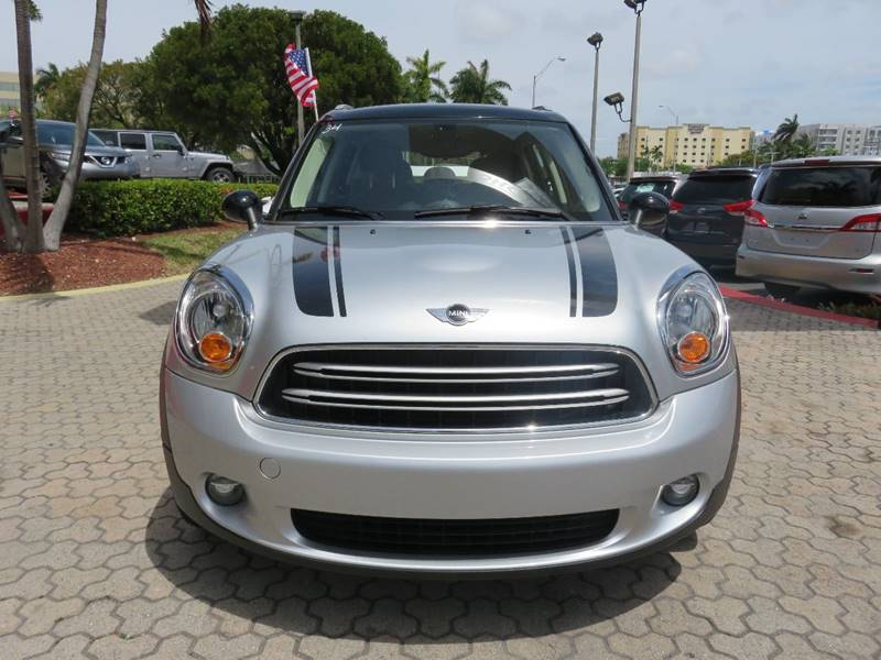 2016 MINI COUNTRYMAN COOPER 4DR CROSSOVER silver door handle color - chrome exhaust tip color -