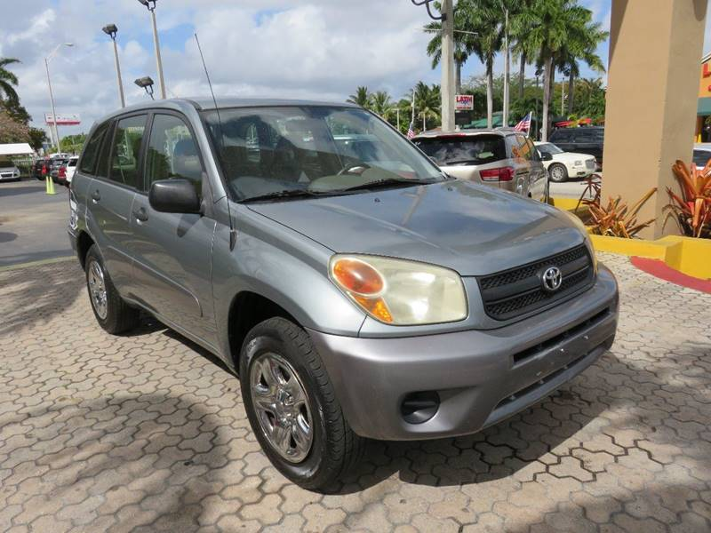 2005 TOYOTA RAV4 BASE AWD 4DR SUV green skid plates front air conditioning front air conditio