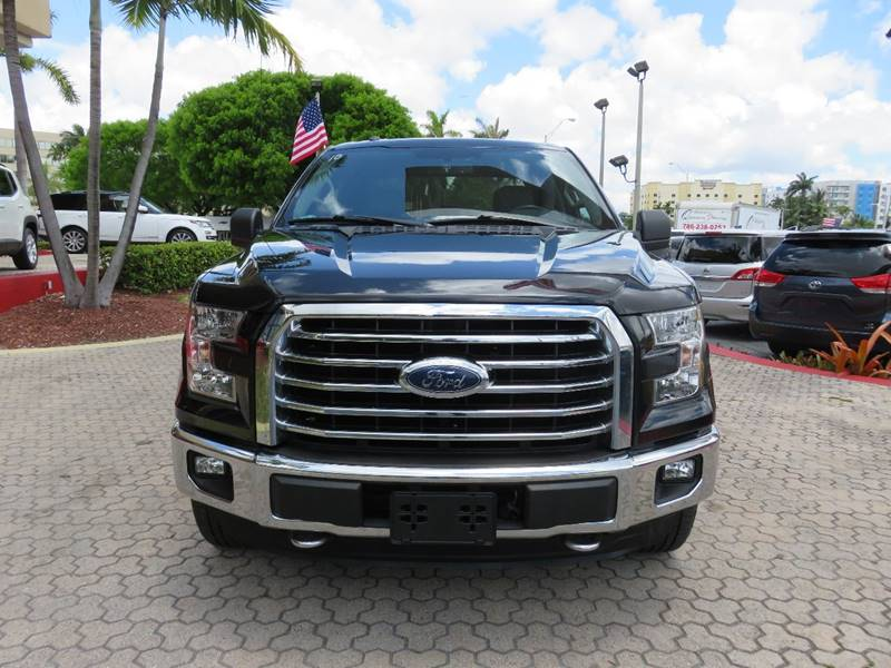 2015 FORD F-150 XLT 4X4 4DR SUPERCREW 55 FT SB black pickup bed light pickup bed type - styles
