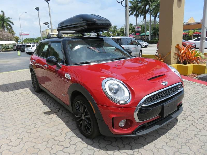 2017 MINI CLUBMAN COOPER S ALL4 AWD 4DR WAGON red exhaust - dual tip headlight bezel color - chr