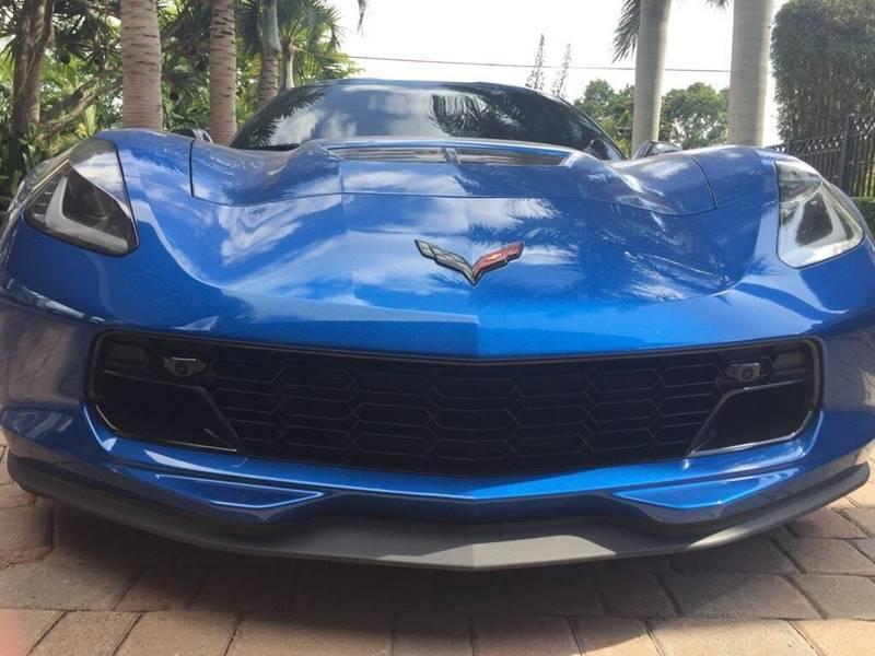 2016 CHEVROLET CORVETTE Z06 2DR COUPE W2LZ blue exhaust - quad tip door handle color - body-col