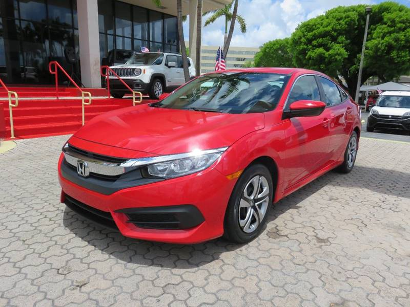 2016 HONDA CIVIC LX 4DR SEDAN CVT red door handle color - body-color front bumper color - body-c