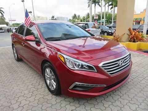 2015 Hyundai Sonata for sale in Miami, FL