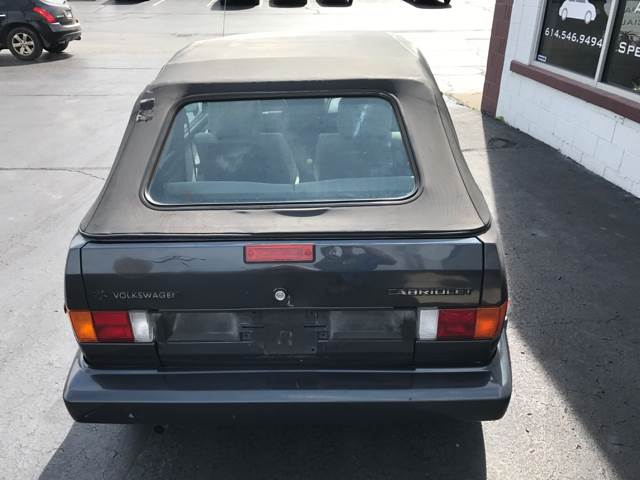 1989 Volkswagen Cabriolet 2dr Convertible - Columbus OH