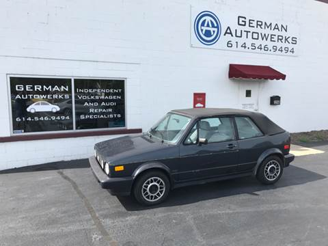 1989 Volkswagen Cabriolet for sale in Columbus, OH