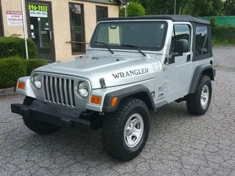 2006 Jeep Wrangler for sale in Lenoir, NC