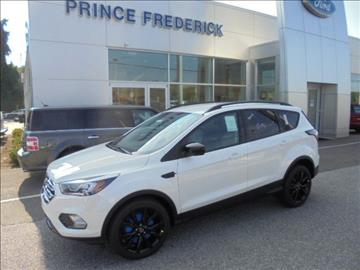 2017 Ford Escape for sale in Prince Frederick, MD
