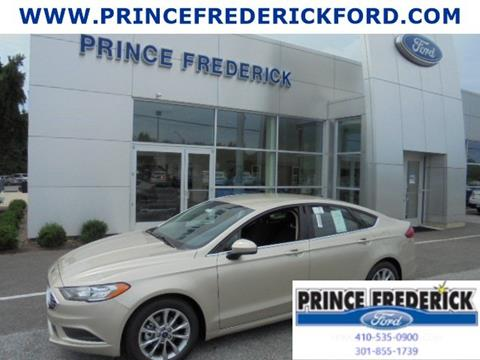 2017 Ford Fusion for sale in Prince Frederick, MD