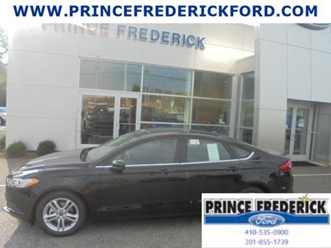 2018 Ford Fusion for sale in Prince Frederick, MD