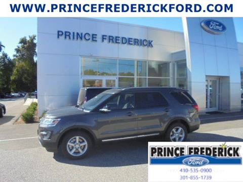 2017 Ford Explorer for sale in Prince Frederick, MD