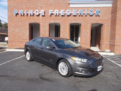 2016 Ford Fusion Energi for sale in Prince Frederick, MD