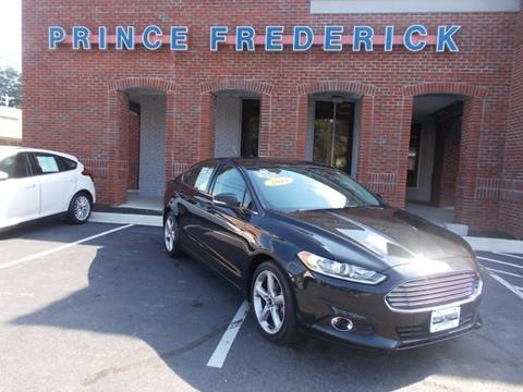 2014 Ford Fusion for sale in Prince Frederick, MD
