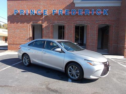 2015 Toyota Camry for sale in Prince Frederick, MD