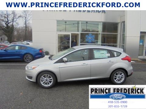 2018 Ford Focus for sale in Prince Frederick, MD