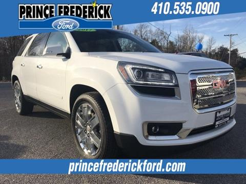 2017 GMC Acadia Limited for sale in Prince Frederick, MD