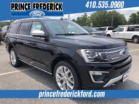 2019 Ford Expedition for sale in Prince Frederick, MD