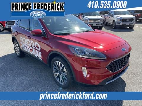 2020 Ford Escape for sale in Prince Frederick, MD