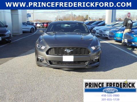 2017 Ford Mustang for sale in Prince Frederick, MD