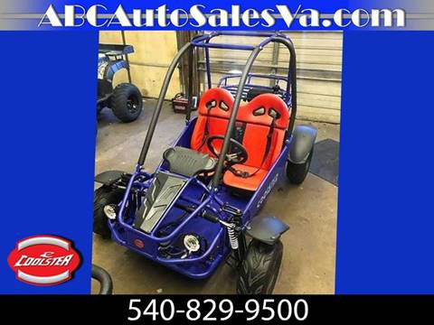 2018 Coolster Go Kart 125cc for sale in Culpeper, VA
